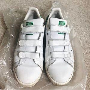 Stan smith green sneakers velcro